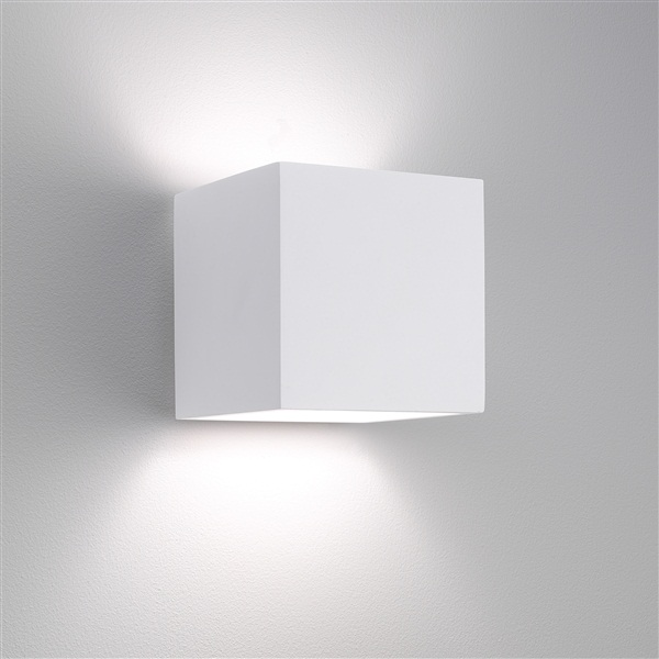 Contemporary Plaster Wall Lights : Pienza LED Lighting Design