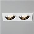 twin adjustable downlight, White