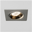 Square Adjustable LED Downlight, Aluminium