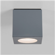 Kiso  LED Square downlight, Painted Silver