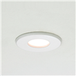 Haboro  Chrome, Halogen recessed downlight, White
