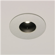 LED Recessed Downlight 3000K, Painted silver