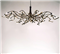 Ruban  Chandelier Oval, 10 Light
