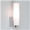 Tulsa, Wall Light, Polished Chrome Tube, Frosted Glass