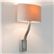 Interior Wall Light, Matt Nickel