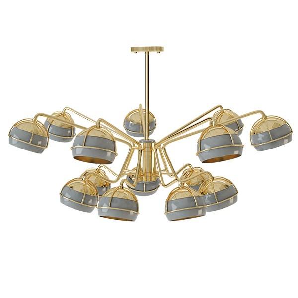 Avoriaz  II Chandelier Light