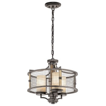 Ahrendale 3-Light Duo-Mount Pendant