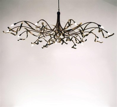 Ruban  Chandelier Oval with 10 Light