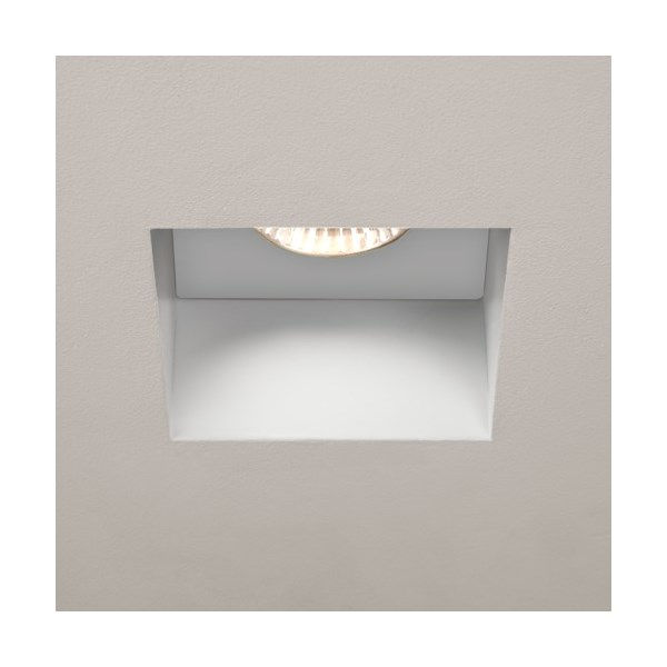 Kasagi  Square, LED,, Fire Rated, Recessed Downlight, White