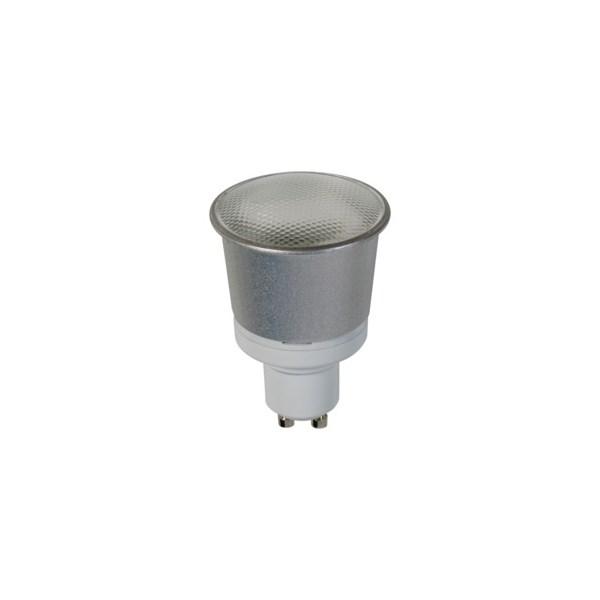 Warm White, GU10 CFL 7w