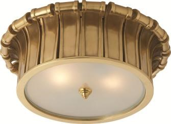Vivien Frosted Glass Flush Mount