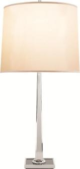 Pergaud  Table Lamp with Silk Shade