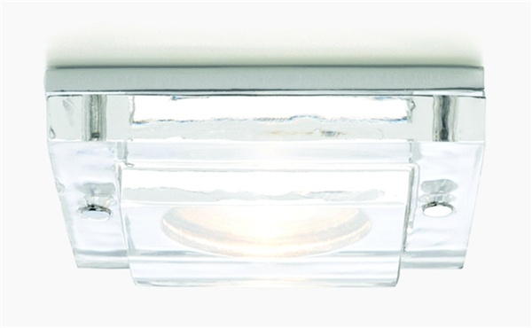 Mint 12v Square Glass and Chrome Downlight