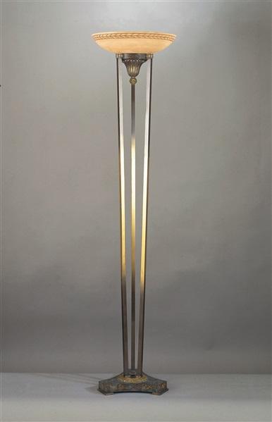 Launceston  Alabaster Floor Lamp
