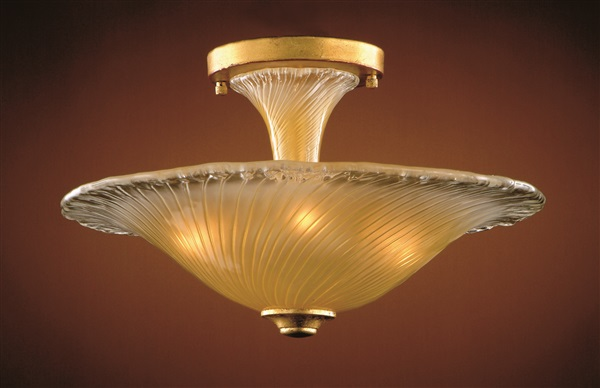 Venetian Glass Flush Mount