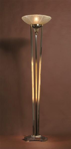 Venetian Glass Floor Lamp
