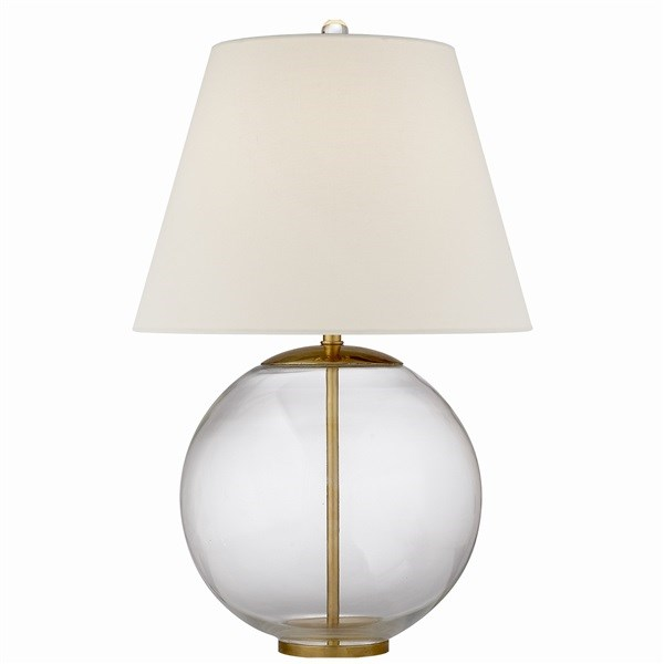 Table Lamp with Linen Shade