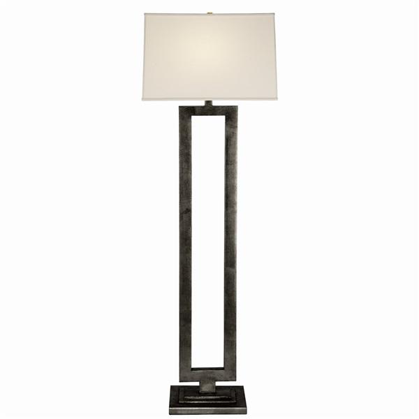 Open Floor Lamp  with Linen Shade