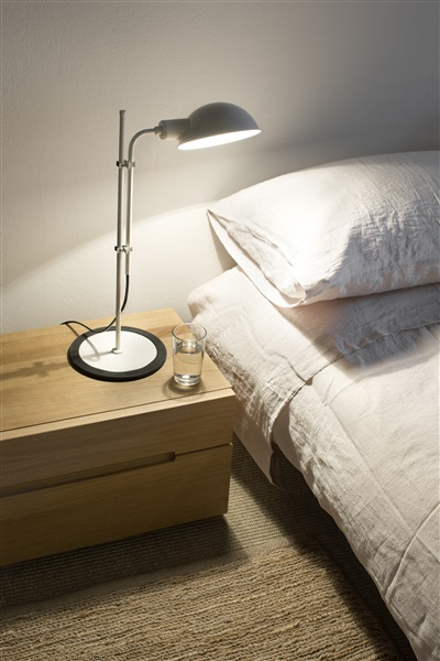 S, Table Lamp With Funicular Action