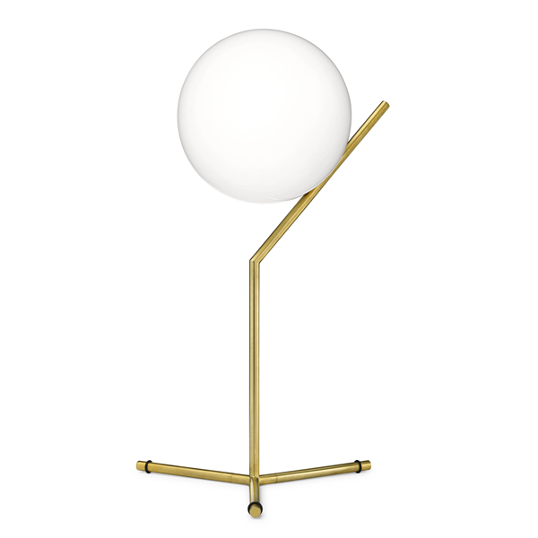 T1 High Table Lamp with Blown Glass