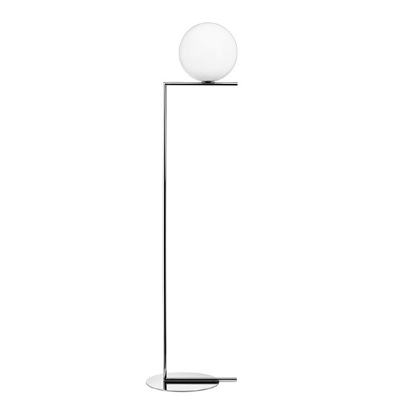 F1 Floor Lamp with Blown Glass