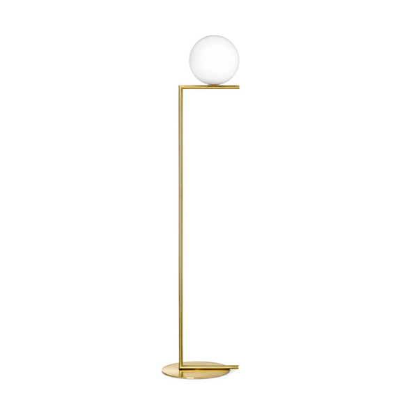 F2 Floor Lamp with Blown Glass