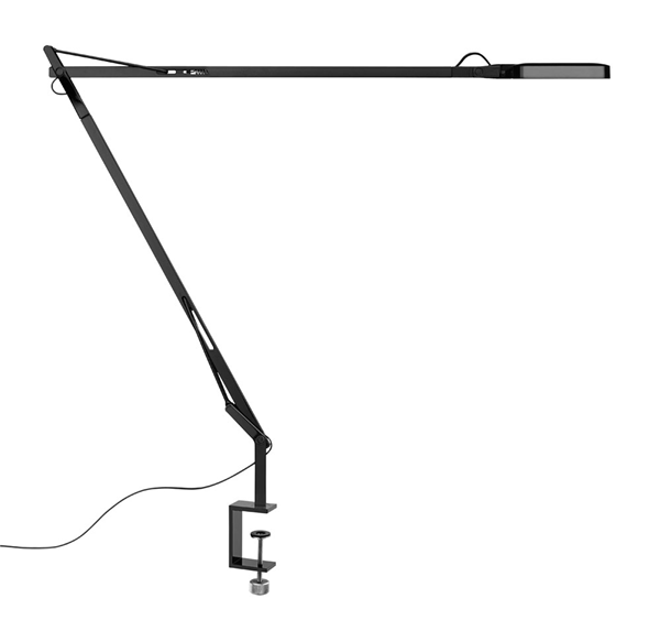 Vallo  LED Clamp Adjustable Table Lamp Aluminum