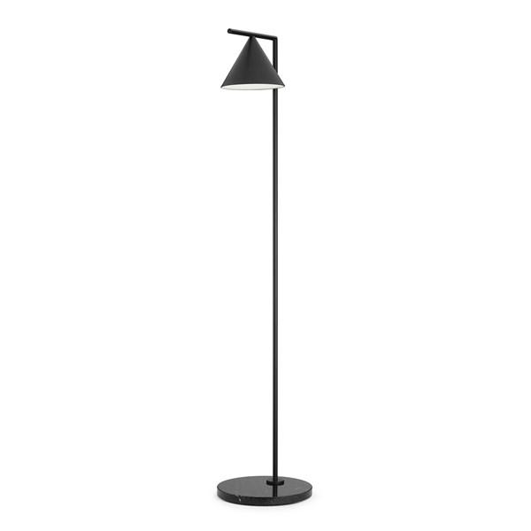Flint LED Adjustable Floor Lamp Marble Base