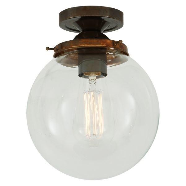 20cm Globe Ceiling Light Fitting