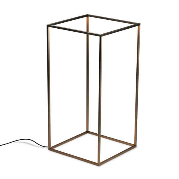 Outdoor LED Floor Lamp Extruded Aluminium Frame