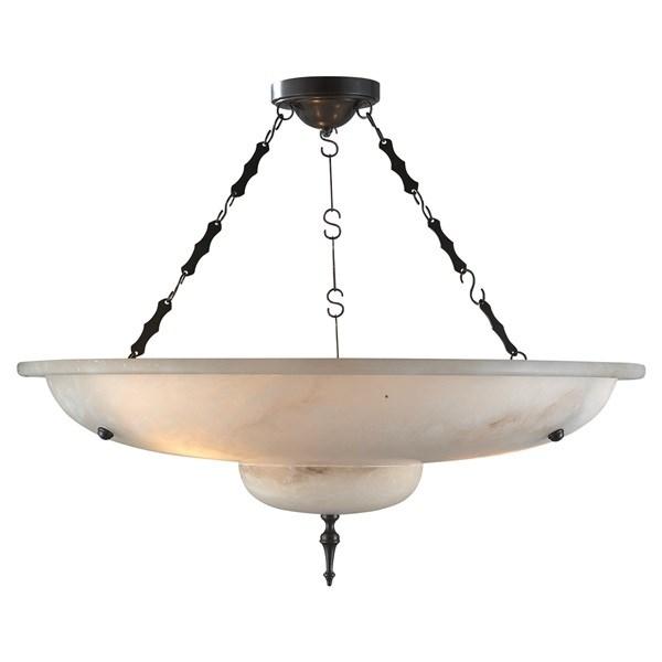 Pendant Light in Alabaster