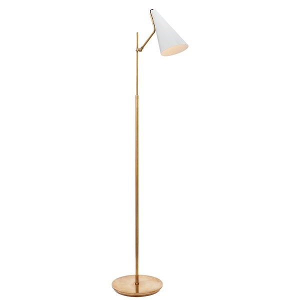 Floor Lamp in Hand-Rubbed