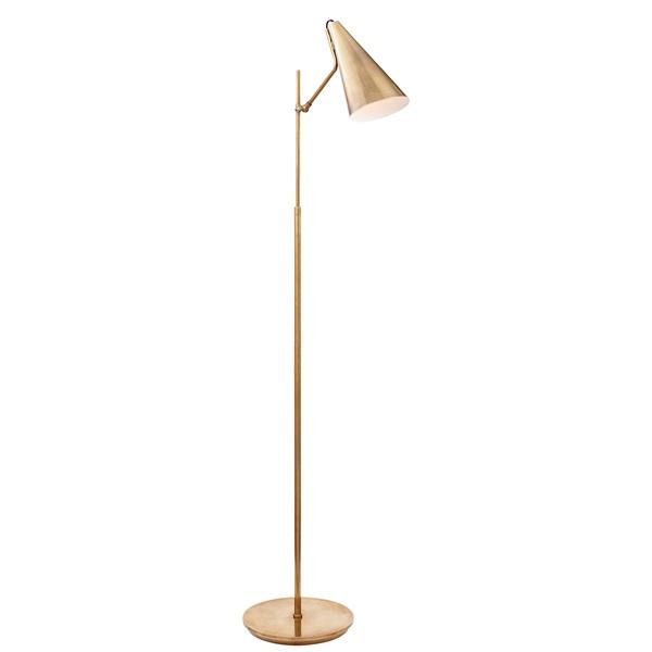 Floor Lamp in Hand-Rubbed