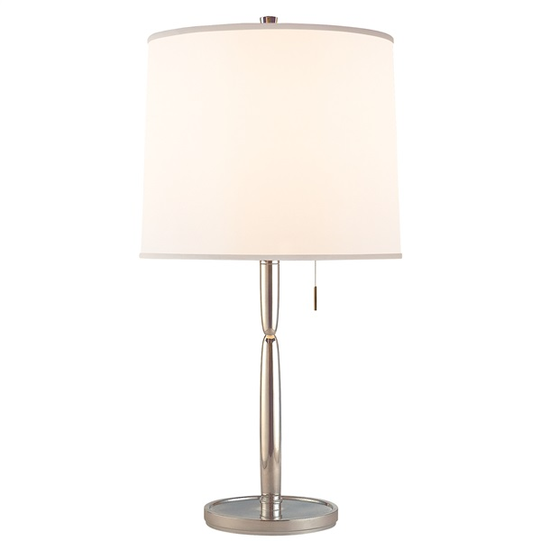 Mauriac  Table Lamp with Silk Shade