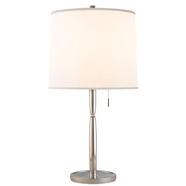 Mauriac  Table Lamp with Silk Shade