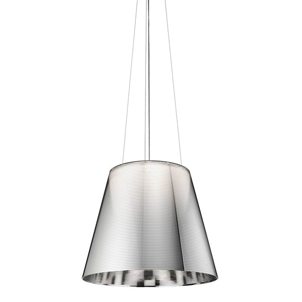 Venezia  S3, Steel Cable Suspension & Drum style Shade