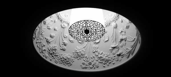 Torino  Recessed Ceiling Light White