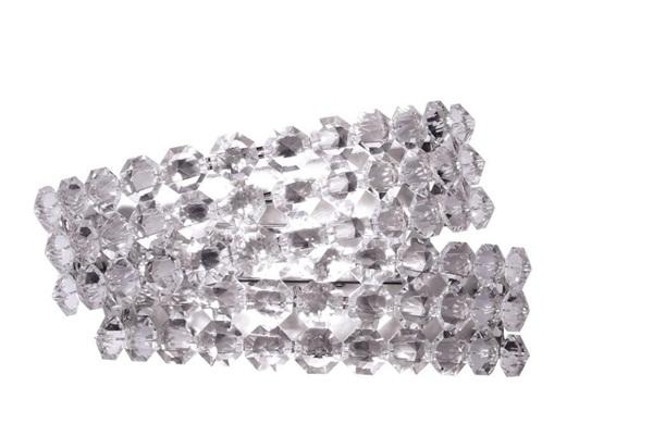 Diamante  AP2, Wall Lamp, Intersecting Semicircles