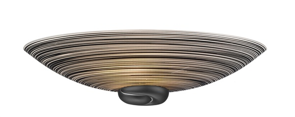 Castleacre  Bold Curved Half Bowl Wall Washer