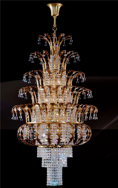 Launceston  Scholer Crystal Chandelier