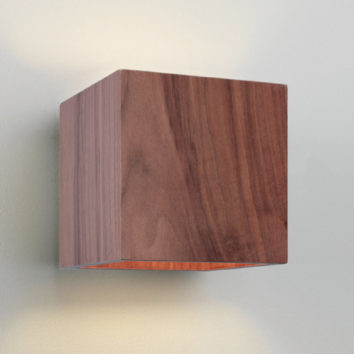 Wooden Cube Wall Lights : Ikawa Wooden Cube Up/Down Wall Light Lighting Design Online Lighting Design Online
