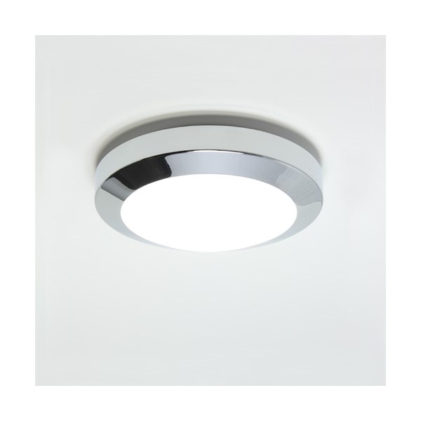Kyoto  Plus 180, A modern flush ceiling light with opal glass cover