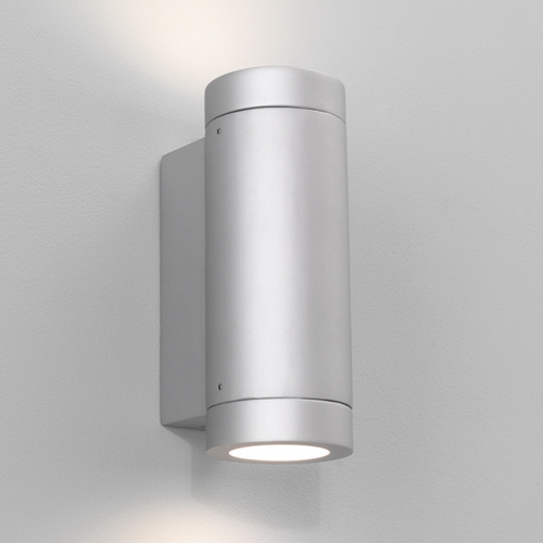 Yokohama  Plus Twin, Low energy exterior up & down wall light