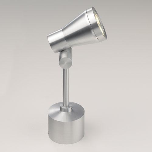 Jardino, LED brushed aluminium ground light