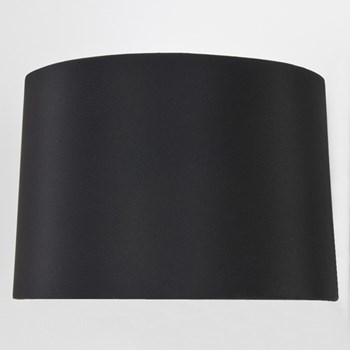 Round Tapered drum shade, Black