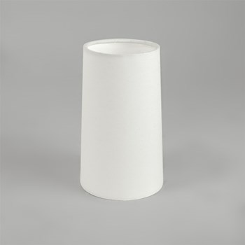 Cone 195, For Lago 280, Wall Mounted Down Light, White Fabric