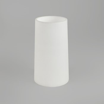 Cone 195, For Lago 280, Wall Mounted Down Light, Opal Glass