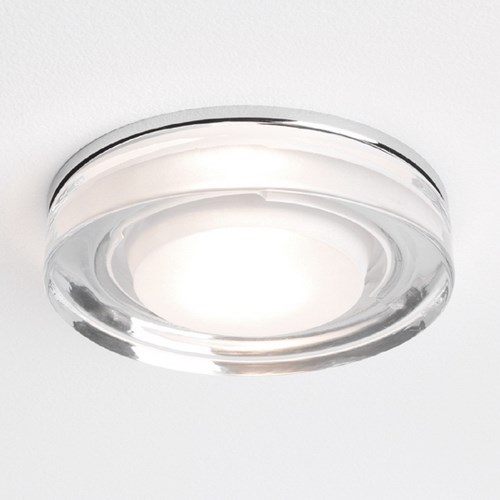 Mori  Square with Glass and Chrome Downlight