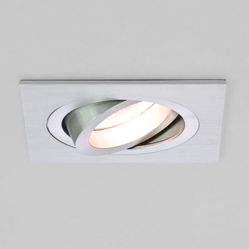 with square adjustable interior downlight