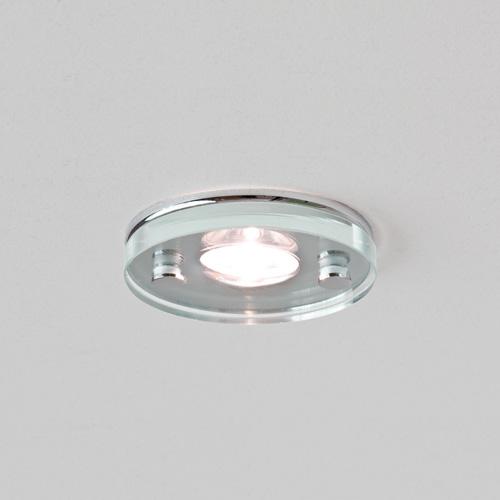 Takasu  LED, Round Glass and Chrome Downlight